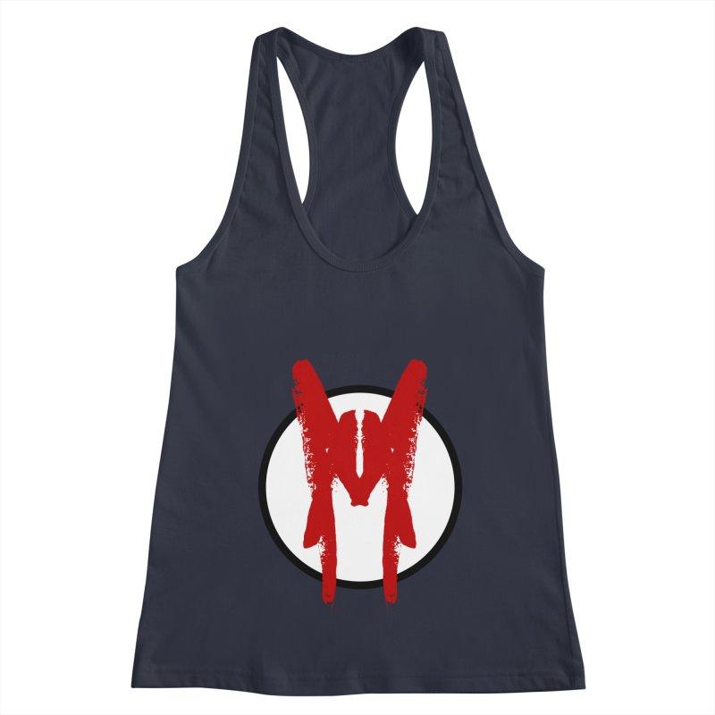 M Symbol Women's Racerback Tank by Comedyrockgeek 's Artist Shop