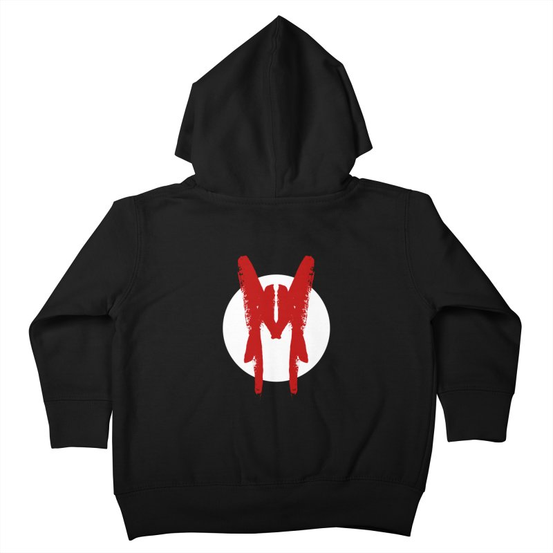M Symbol Kids Toddler Zip-Up Hoody by Comedyrockgeek 's Artist Shop