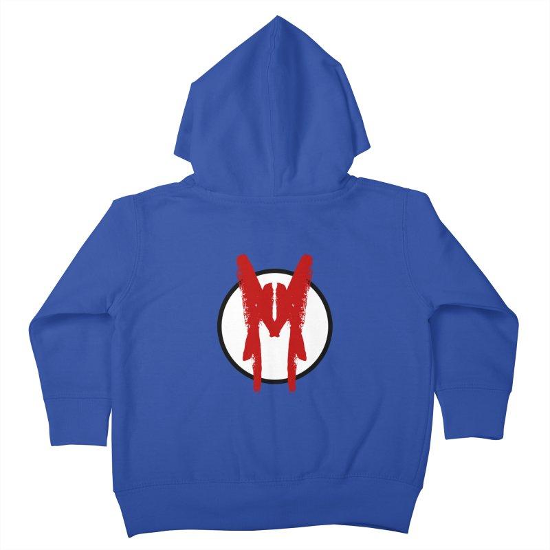M Symbol Kids Toddler Zip-Up Hoody by Comedyrockgeek 's Artist Shop