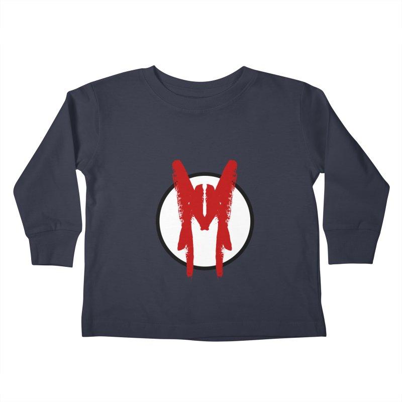 M Symbol Kids Toddler Longsleeve T-Shirt by Comedyrockgeek 's Artist Shop