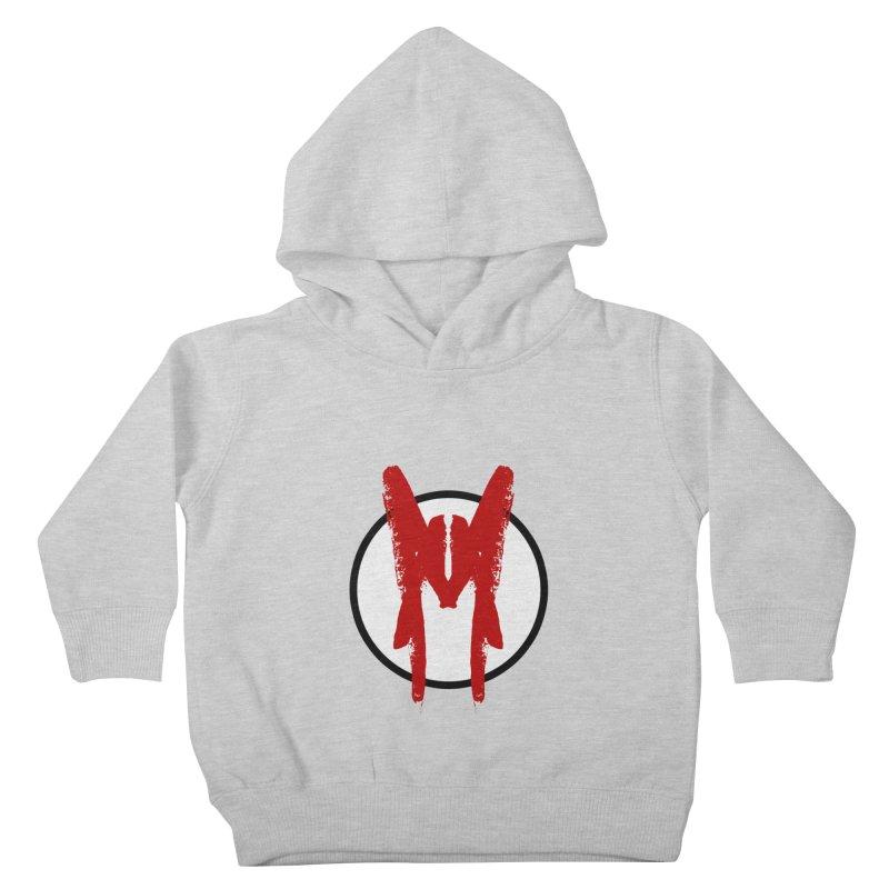 M Symbol Kids Toddler Pullover Hoody by Comedyrockgeek 's Artist Shop