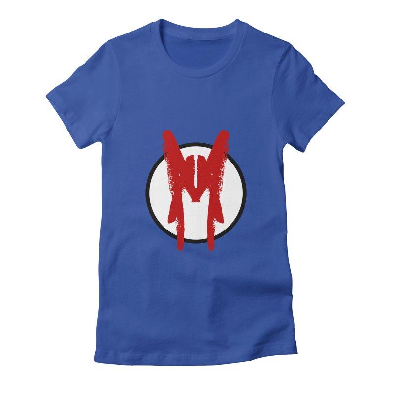 M Symbol Women's Fitted T-Shirt by Comedyrockgeek 's Artist Shop