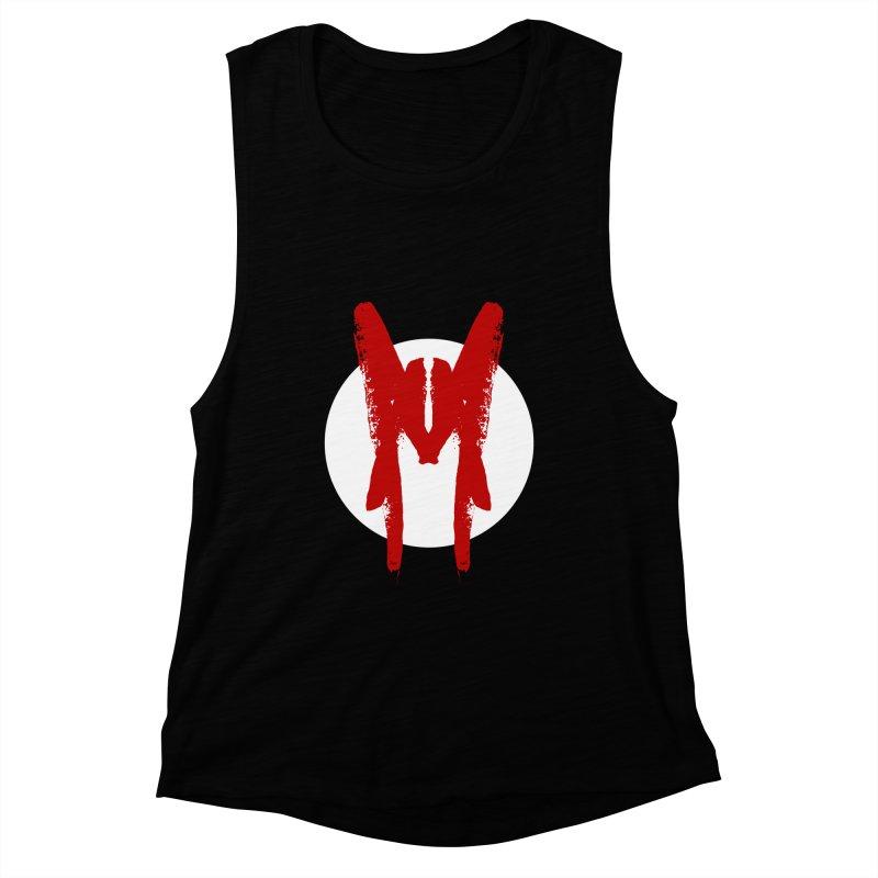 M Symbol Women's Muscle Tank by Comedyrockgeek 's Artist Shop