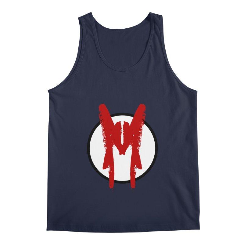 M Symbol Men's Regular Tank by Comedyrockgeek 's Artist Shop