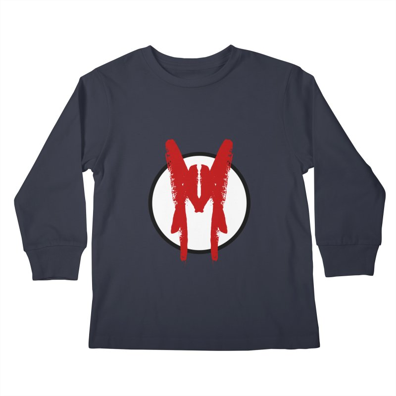 M Symbol Kids Longsleeve T-Shirt by Comedyrockgeek 's Artist Shop