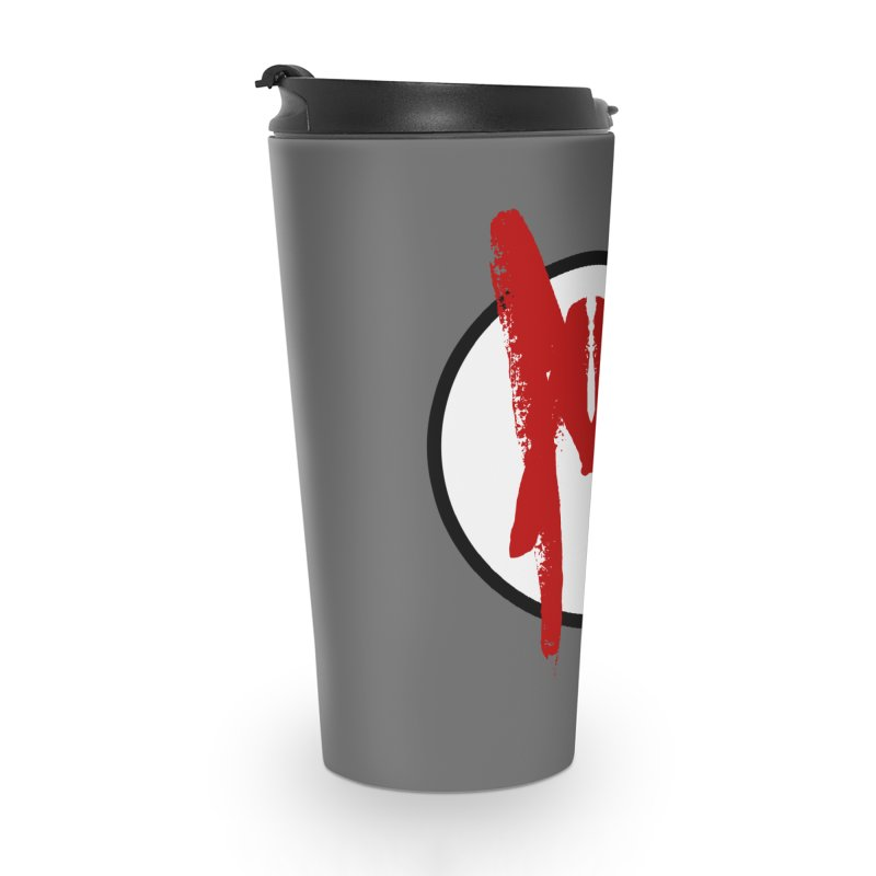 M Symbol Accessories Travel Mug by Comedyrockgeek 's Artist Shop