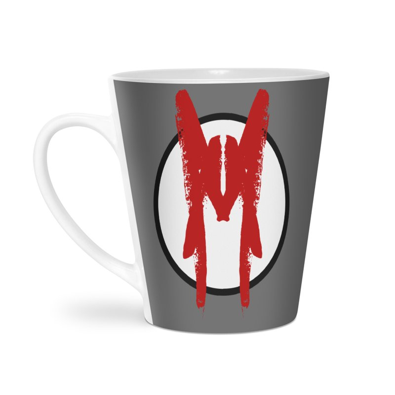 M Symbol Accessories Latte Mug by Comedyrockgeek 's Artist Shop