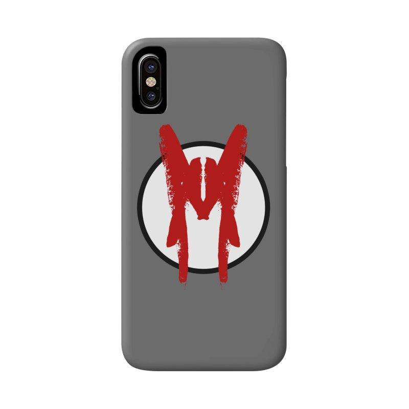 M Symbol Accessories Phone Case by Comedyrockgeek 's Artist Shop