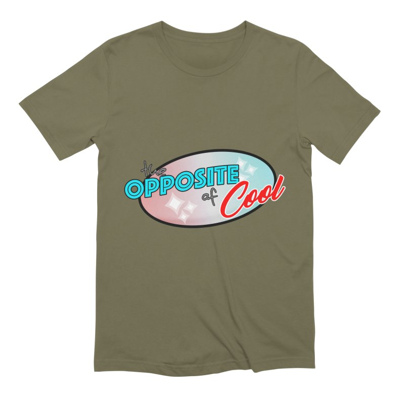 Opposite of Cool Men's Extra Soft T-Shirt by Comedyrockgeek 's Artist Shop