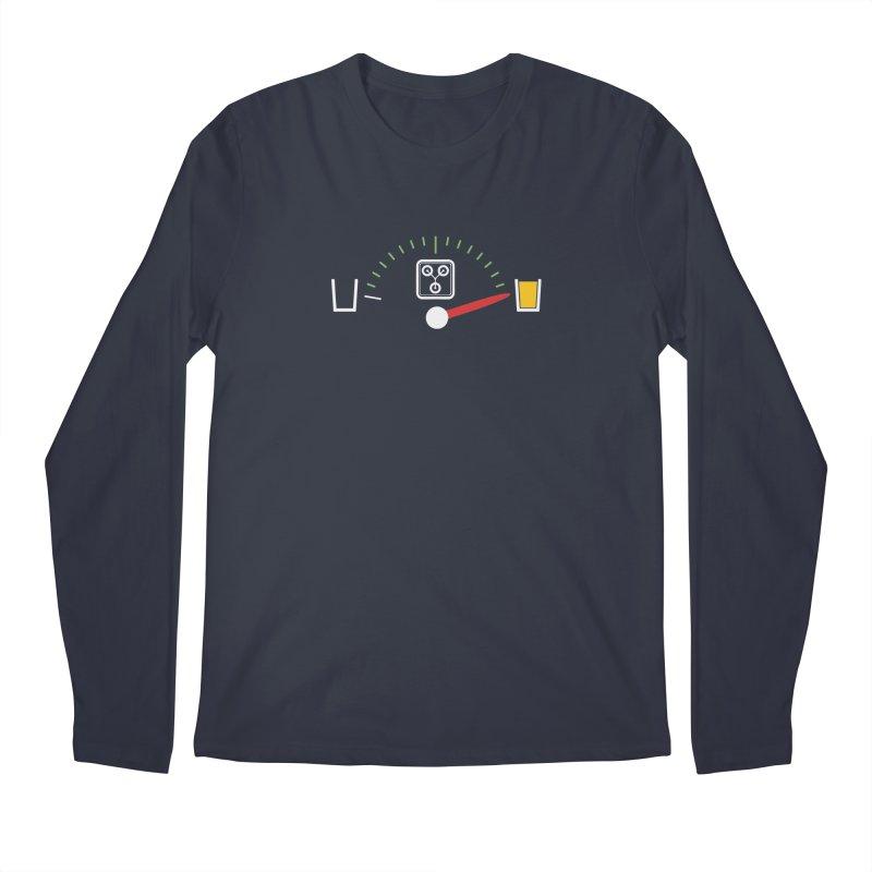 Beer Powered Time Machine Men's Longsleeve T-Shirt by Comedyrockgeek 's Artist Shop