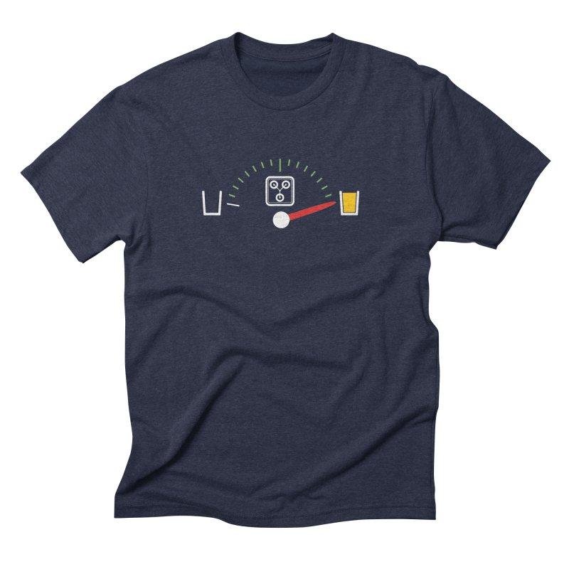 Beer Powered Time Machine Men's Triblend T-shirt by Comedyrockgeek 's Artist Shop