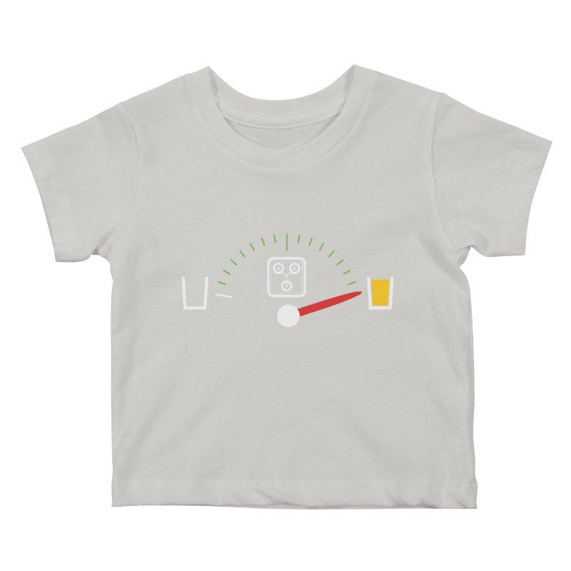 Beer Powered Time Machine Kids Baby T-Shirt by Comedyrockgeek 's Artist Shop