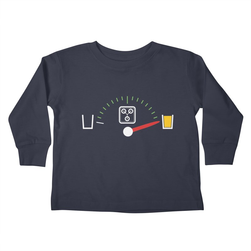Beer Powered Time Machine Kids Toddler Longsleeve T-Shirt by Comedyrockgeek 's Artist Shop