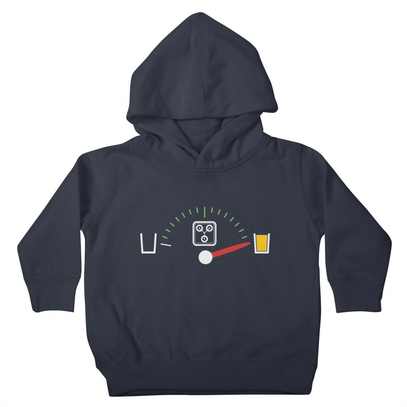 Beer Powered Time Machine Kids Toddler Pullover Hoody by Comedyrockgeek 's Artist Shop