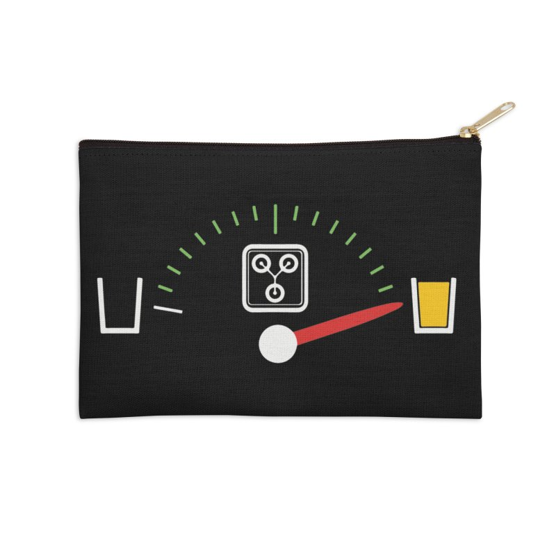 Beer Powered Time Machine Accessories Zip Pouch by Comedyrockgeek 's Artist Shop