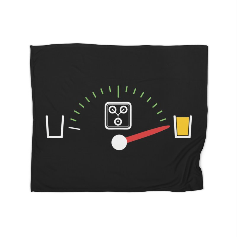 Beer Powered Time Machine Home Blanket by Comedyrockgeek 's Artist Shop