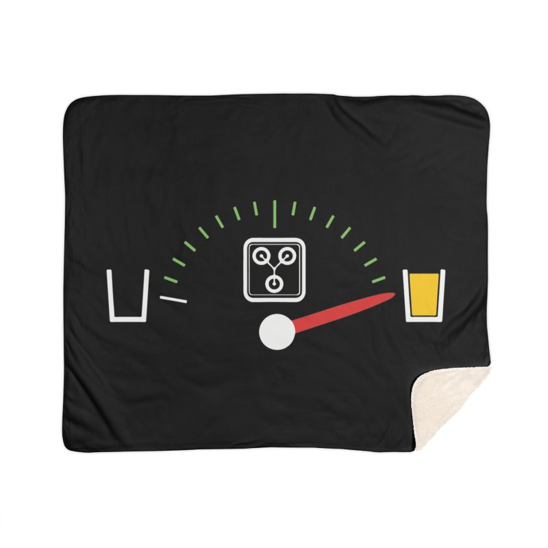 Beer Powered Time Machine Home Sherpa Blanket Blanket by Comedyrockgeek 's Artist Shop