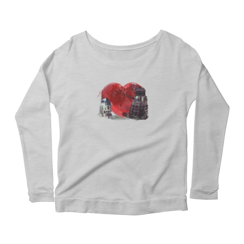 Love Connection Women's Longsleeve Scoopneck  by Comedyrockgeek 's Artist Shop