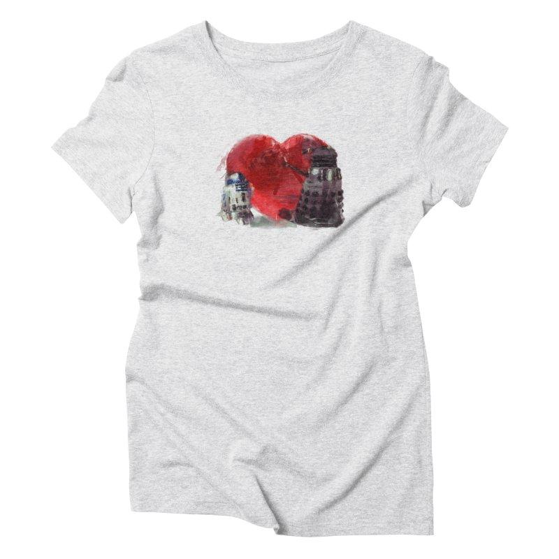 Love Connection Women's Triblend T-shirt by Comedyrockgeek 's Artist Shop