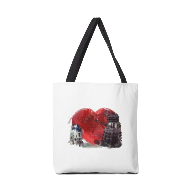 Love Connection Accessories Bag by Comedyrockgeek 's Artist Shop