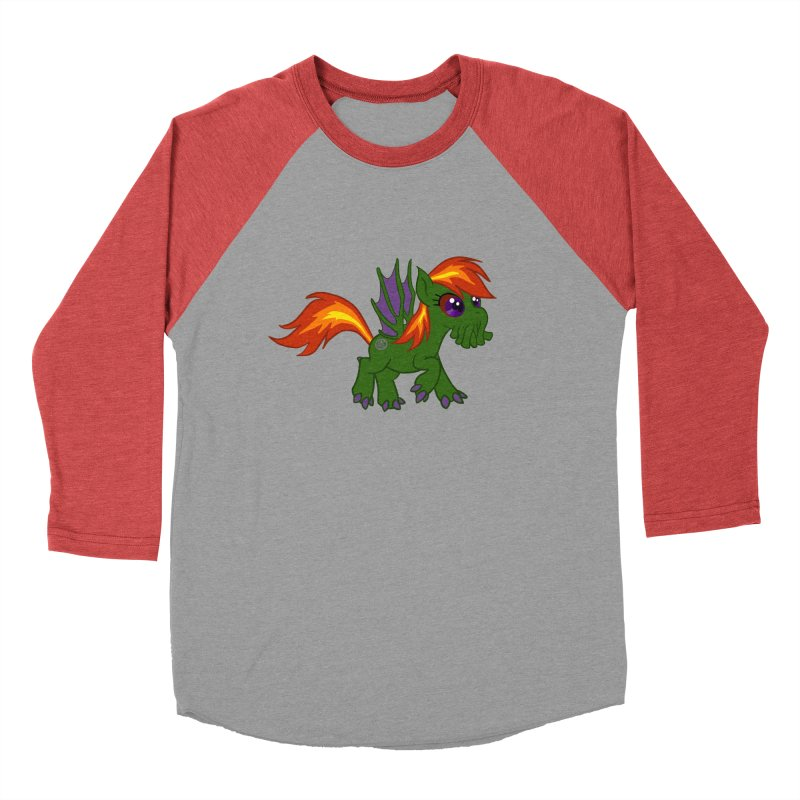 Friendship is Tragic Women's Baseball Triblend T-Shirt by Comedyrockgeek 's Artist Shop