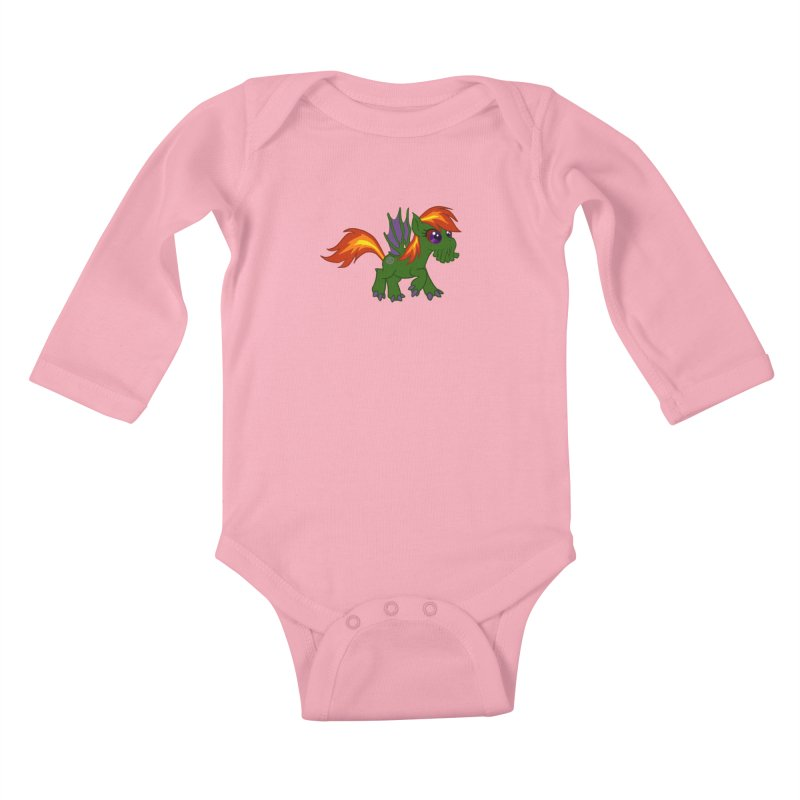 Friendship is Tragic Kids Baby Longsleeve Bodysuit by Comedyrockgeek 's Artist Shop