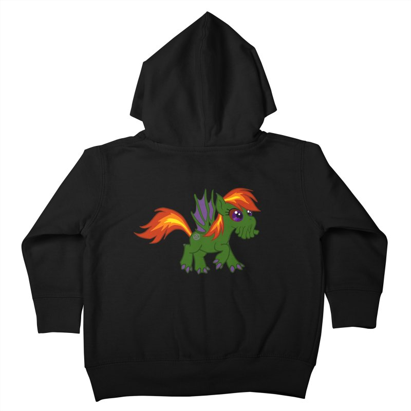 Friendship is Tragic Kids Toddler Zip-Up Hoody by Comedyrockgeek 's Artist Shop