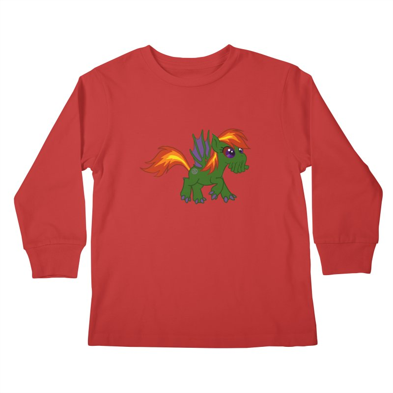 Friendship is Tragic Kids Longsleeve T-Shirt by Comedyrockgeek 's Artist Shop