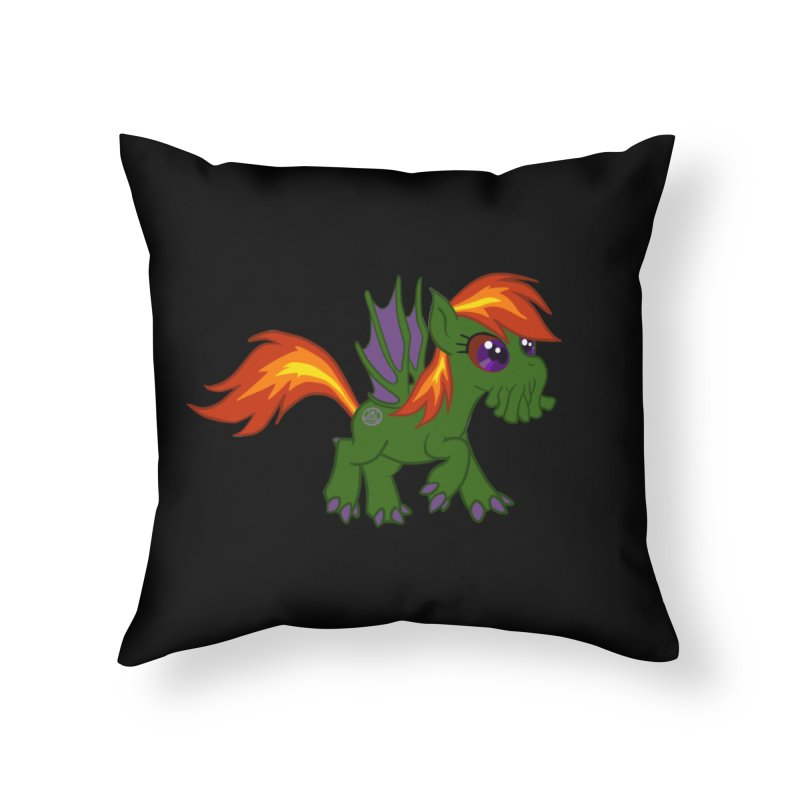 Friendship is Tragic Home Throw Pillow by Comedyrockgeek 's Artist Shop