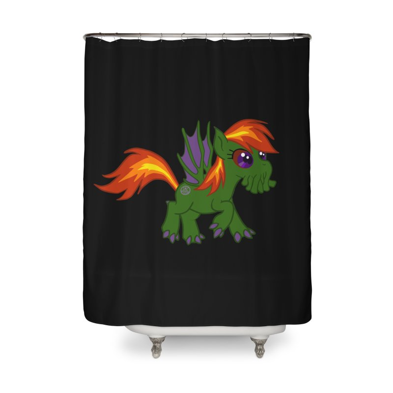 Friendship is Tragic Home Shower Curtain by Comedyrockgeek 's Artist Shop