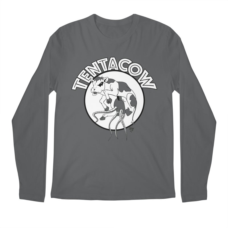 Tentacow Men's Longsleeve T-Shirt by Comedyrockgeek 's Artist Shop