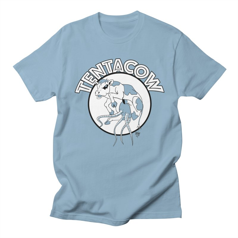 Tentacow Men's T-Shirt by Comedyrockgeek 's Artist Shop