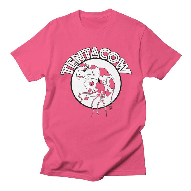 Tentacow Men's T-Shirt by Comedyrockgeek 's Artist Shop