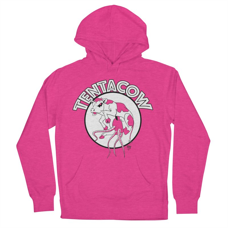 Tentacow Women's Pullover Hoody by Comedyrockgeek 's Artist Shop