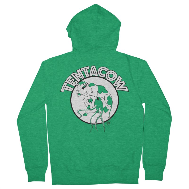Tentacow Women's Zip-Up Hoody by Comedyrockgeek 's Artist Shop