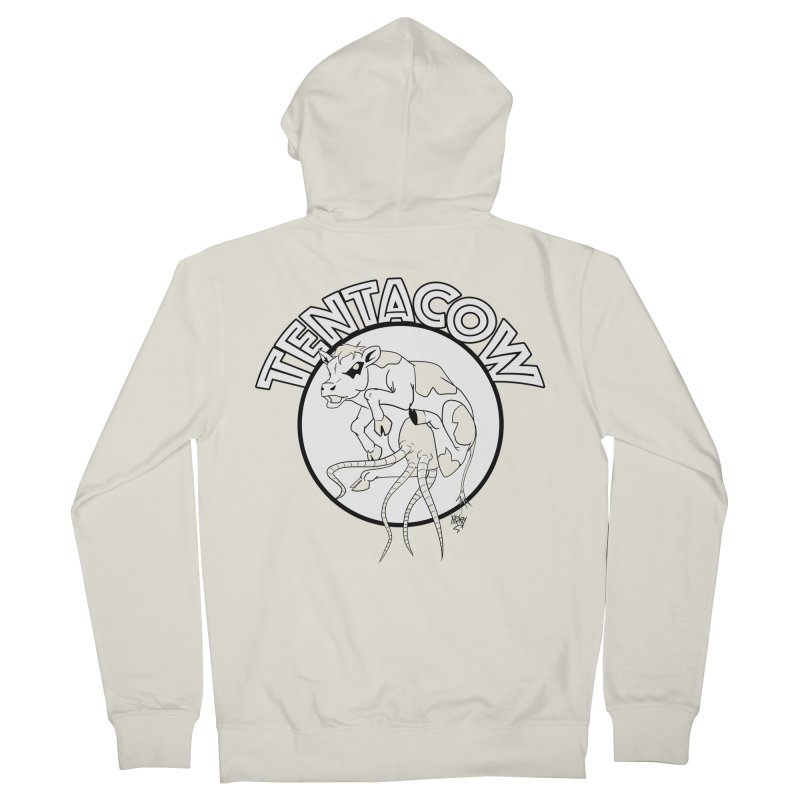 Tentacow Women's Zip-Up Hoody by Comedyrockgeek 's Artist Shop