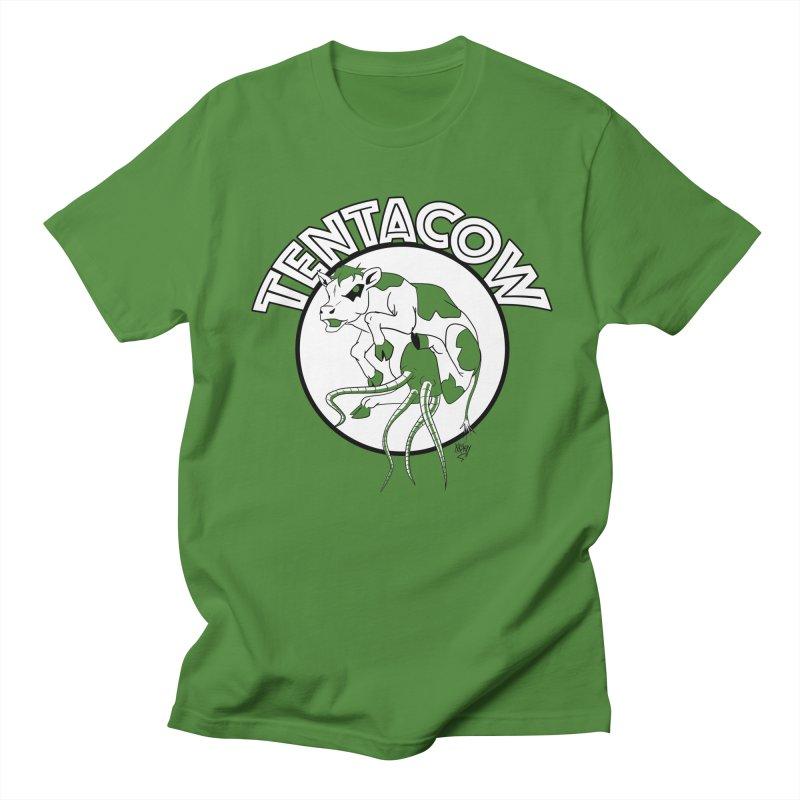 Tentacow Women's Unisex T-Shirt by Comedyrockgeek 's Artist Shop