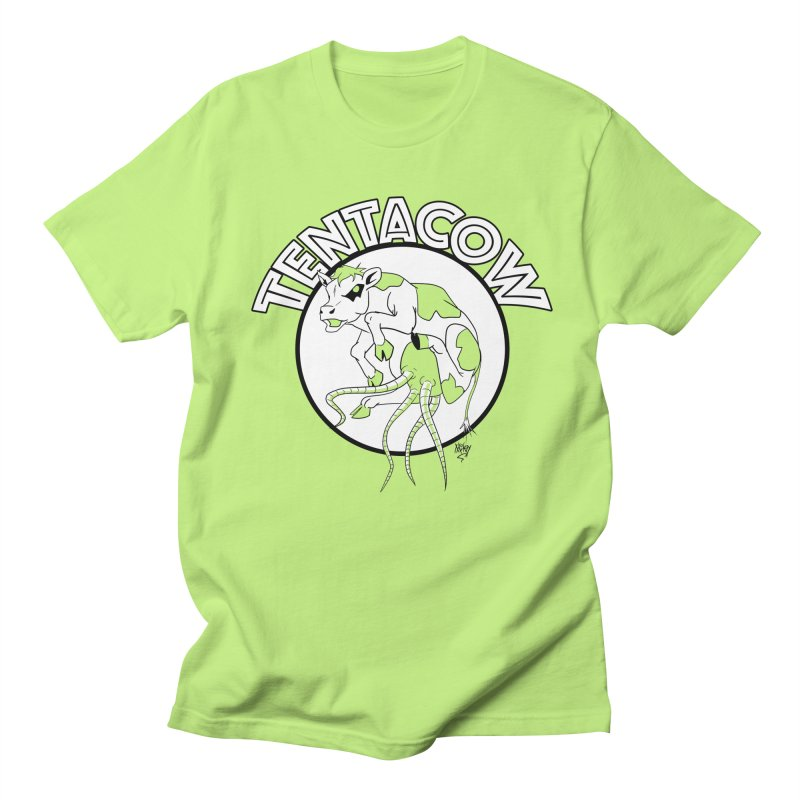 Tentacow Women's Regular Unisex T-Shirt by Comedyrockgeek 's Artist Shop