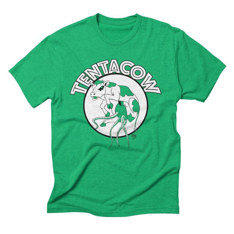 Tentacow Men's Triblend T-Shirt by Comedyrockgeek 's Artist Shop