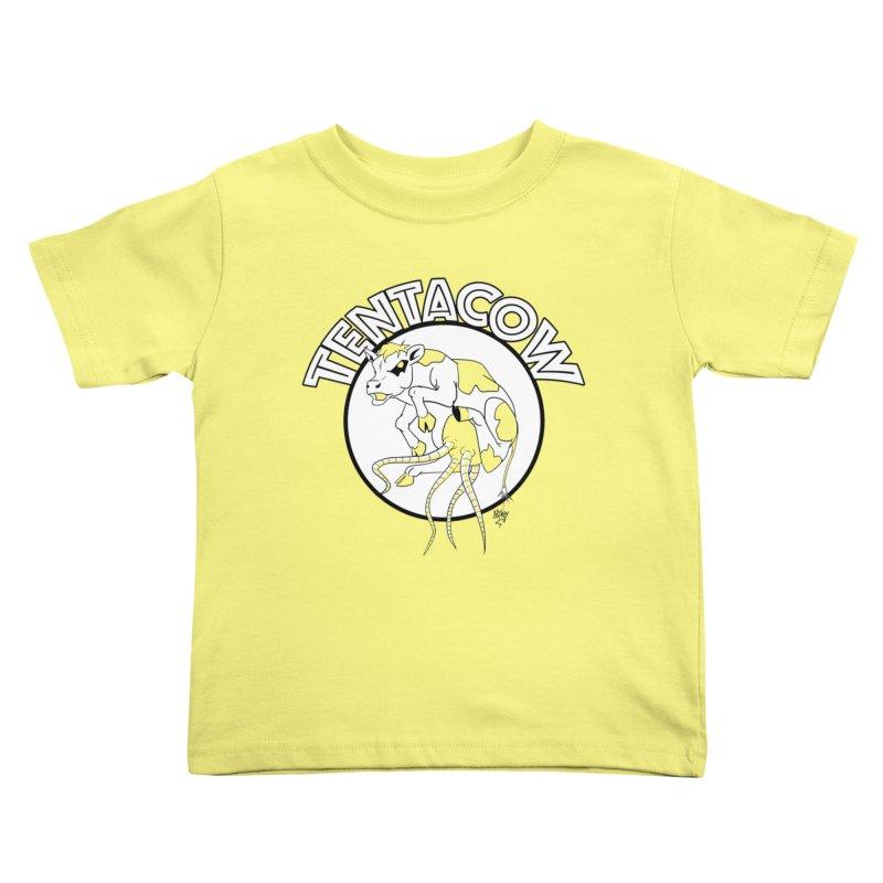 Tentacow Kids Toddler T-Shirt by Comedyrockgeek 's Artist Shop
