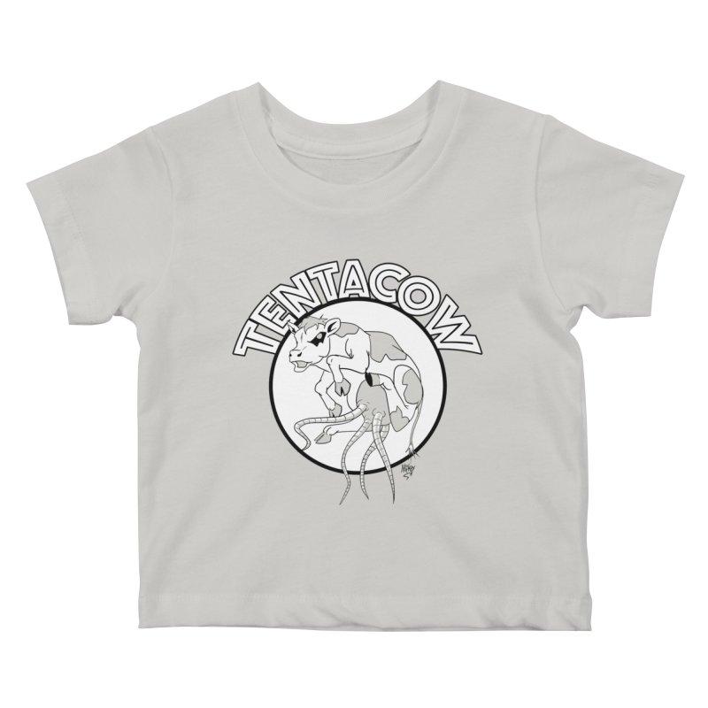 Tentacow Kids Baby T-Shirt by Comedyrockgeek 's Artist Shop
