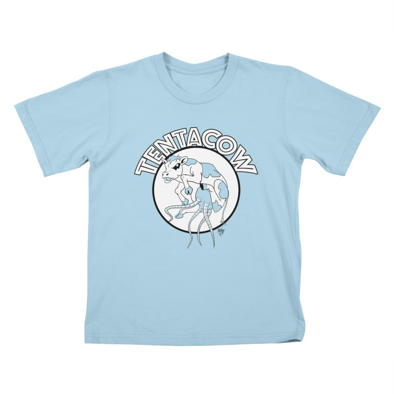 Tentacow Kids T-shirt by Comedyrockgeek 's Artist Shop