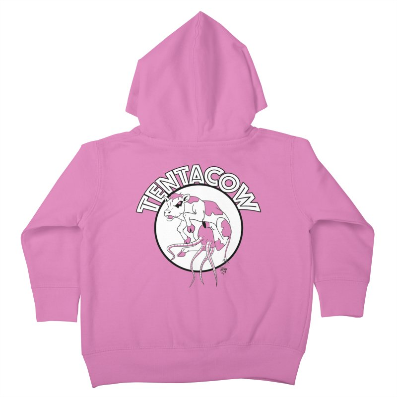 Tentacow Kids Toddler Zip-Up Hoody by Comedyrockgeek 's Artist Shop