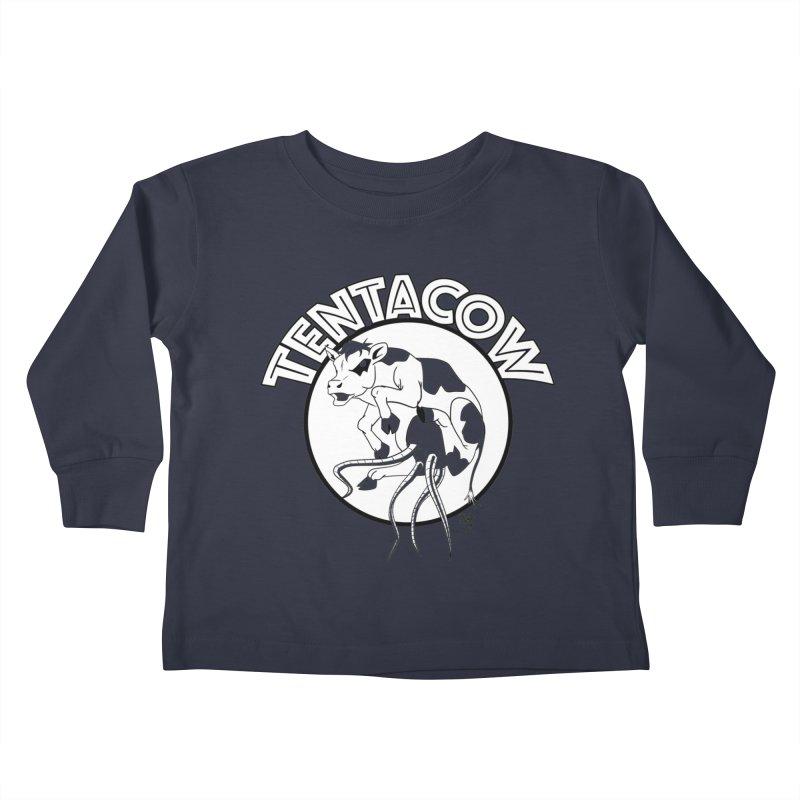 Tentacow Kids Toddler Longsleeve T-Shirt by Comedyrockgeek 's Artist Shop