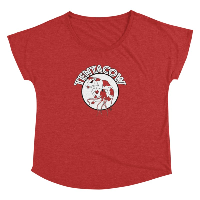 Tentacow Women's Dolman by Comedyrockgeek 's Artist Shop