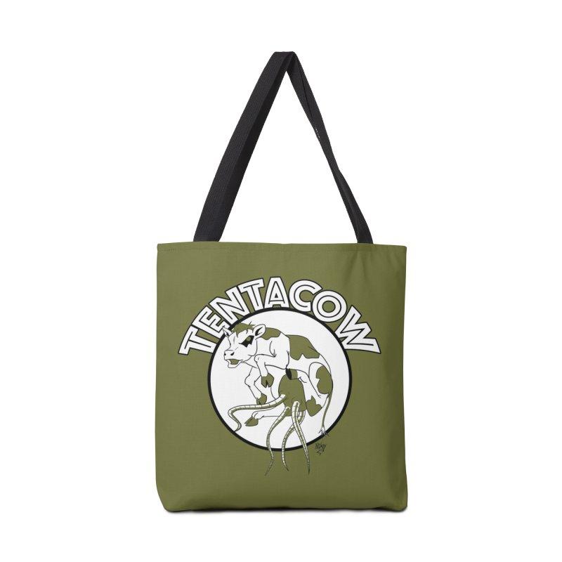 Tentacow Accessories Bag by Comedyrockgeek 's Artist Shop