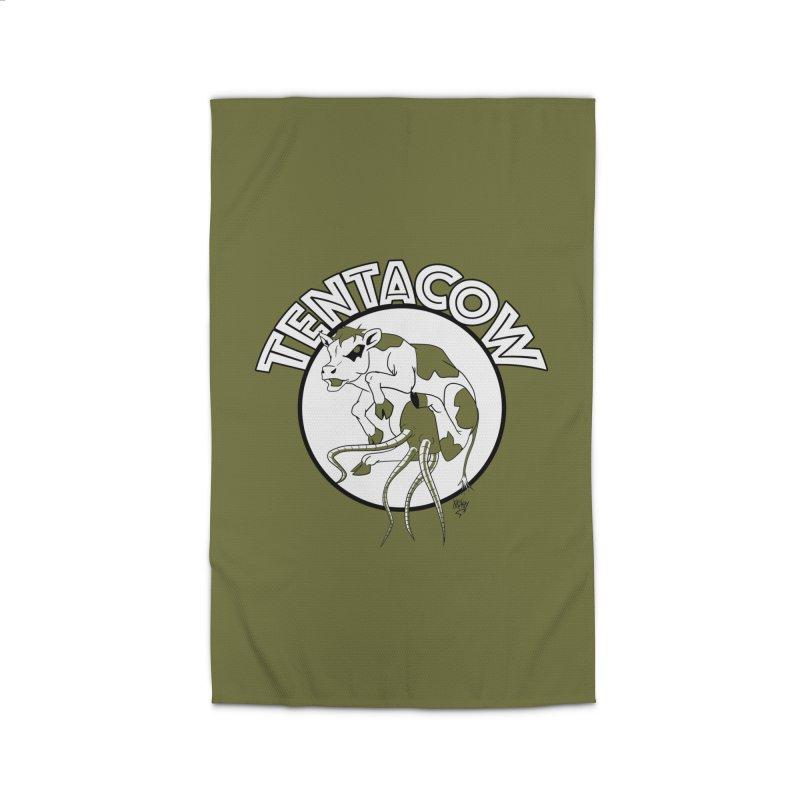 Tentacow Home Rug by Comedyrockgeek 's Artist Shop