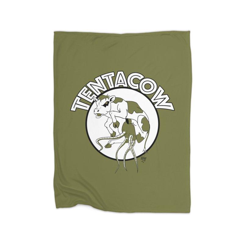Tentacow Home Blanket by Comedyrockgeek 's Artist Shop