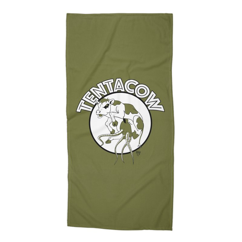 Tentacow Accessories Beach Towel by Comedyrockgeek 's Artist Shop