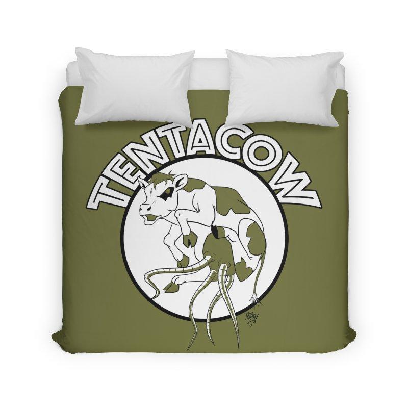 Tentacow Home Duvet by Comedyrockgeek 's Artist Shop